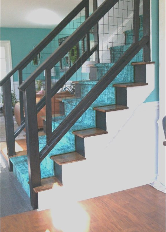 Modern Stairs Diy Luxury Colorful Modern Staircase Renovation Reveal