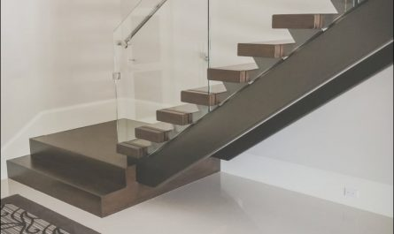 Modern Stairs Glass Railings Beautiful Building A Modern Railing In 2016 southern Staircase