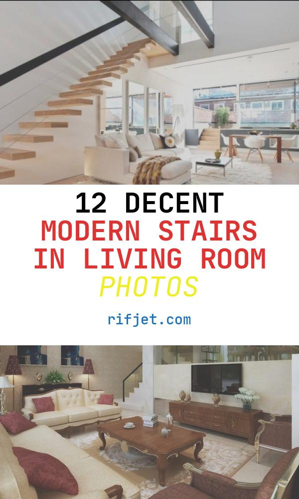 12 Decent Modern Stairs In Living Room Photos
