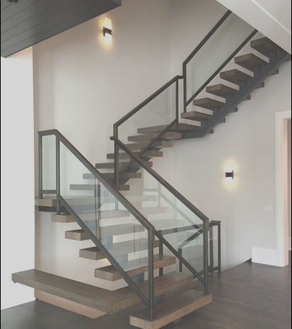 14 attractive Modern Stairs Railing Design Collection