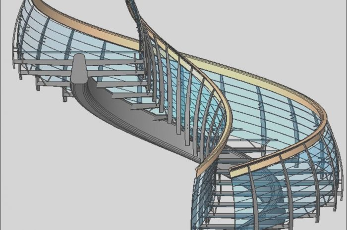 11 Majestic Modern Stairs Revit Gallery