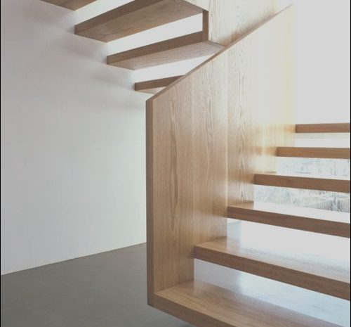 4 Conventional Modern Wooden Stairs Photos