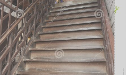 Old Stairs Wooden Best Of Brown Old Style Wood Ladder Home Royalty Free Stock S