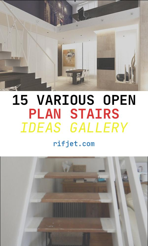 Open Plan Stairs Ideas Elegant Open Plan Staircase Design
