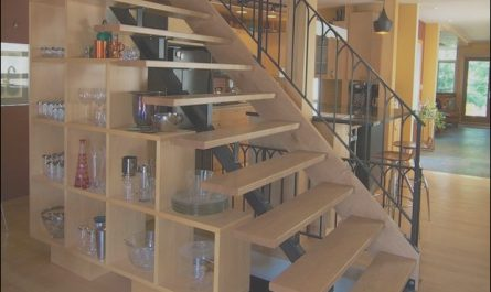 Open Under Stairs Ideas Lovely Open Tread Staircase Under Stairs Storage Shelves