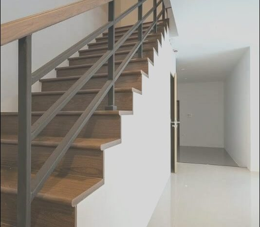 8 Cheerful Pictures Of Contemporary Wooden Stairs Photos