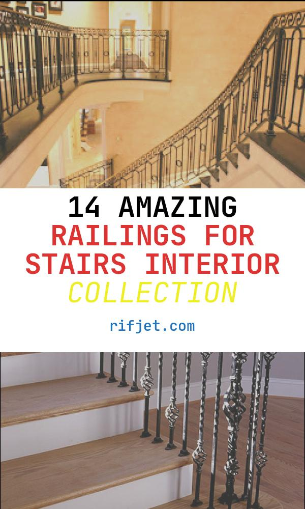 14 Amazing Railings for Stairs Interior Collection