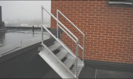 Repair Roof Stairs Awesome Gsm Custom Fabricated This Roof Stairs & Railings Gsm