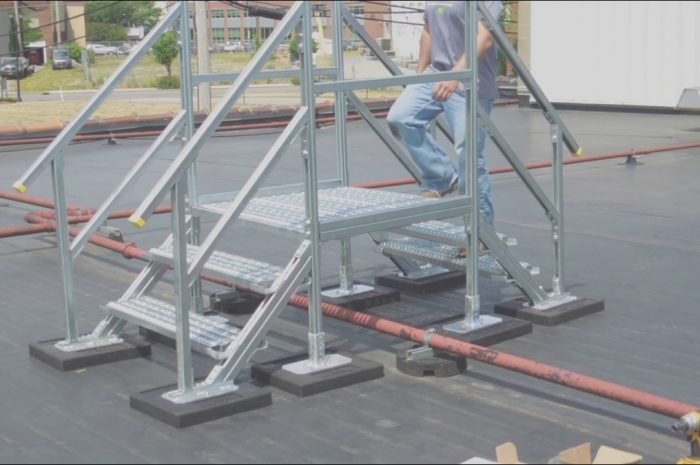 10 Fancy Roof Equipment Stairs Image