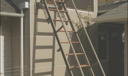 Roof Over Outside Stairs Best Of Retractable Ladder Must Have In 2019