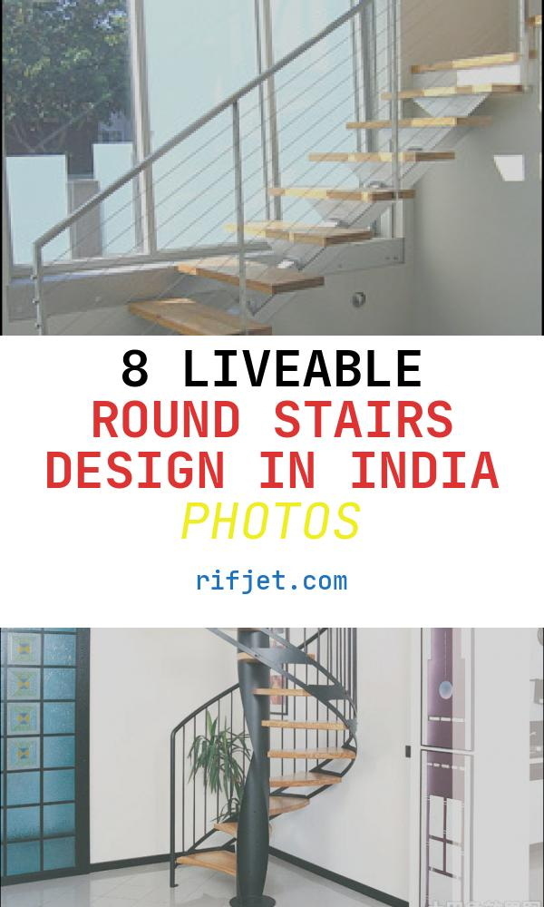 8 Liveable Round Stairs Design In India Photos