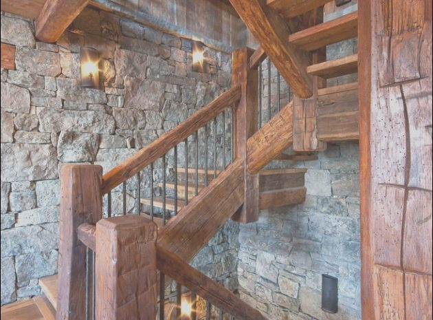 11 Expensive Rustic Stairs Ideas Image