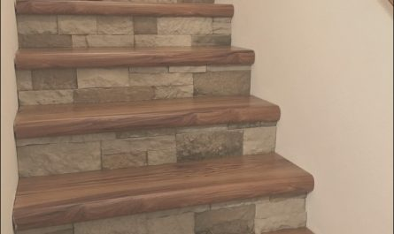 Stair Tread Ideas Elegant Cap A Tread and Airstone Stairs No More Carpet took