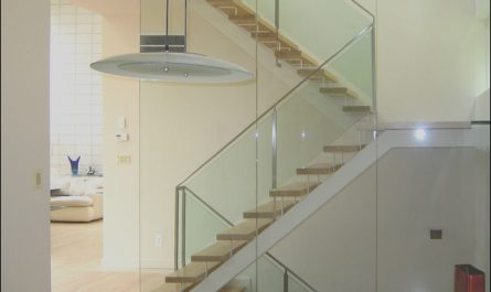 Stairs Contemporary View Lovely Leesburg House Stair Side View Modern Staircase Dc