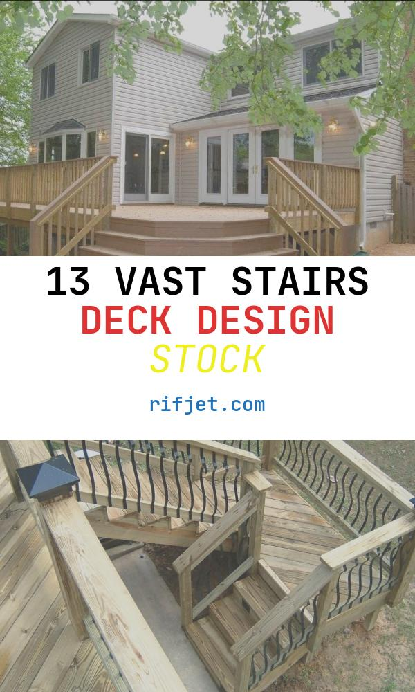 Stairs Deck Design Awesome Deck Stairs Design Ayanahouse