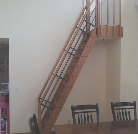 11 attractive Stairs Decorating Ladder Images