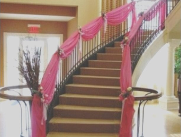 12 Decent Stairs Decoration with Cloth Collection