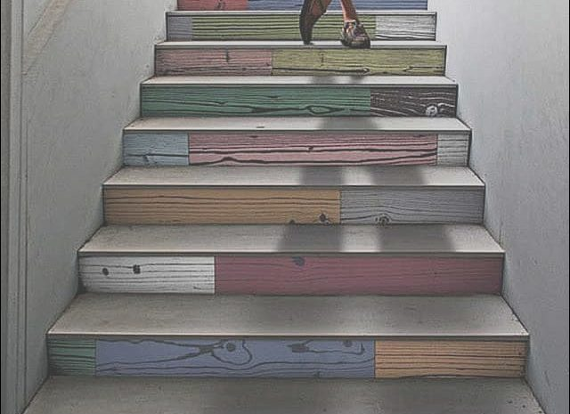 16 Excellent Stairs Design and Colour Photos