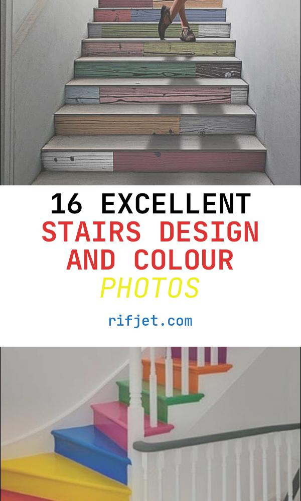 Stairs Design and Colour Unique Colorful Staircase Designs 30 Ideas to Consider for A