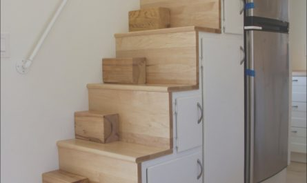 Stairs Design Small House Inspirational the Chickadee Tiny Home is An 8×24 Design Featuring Two