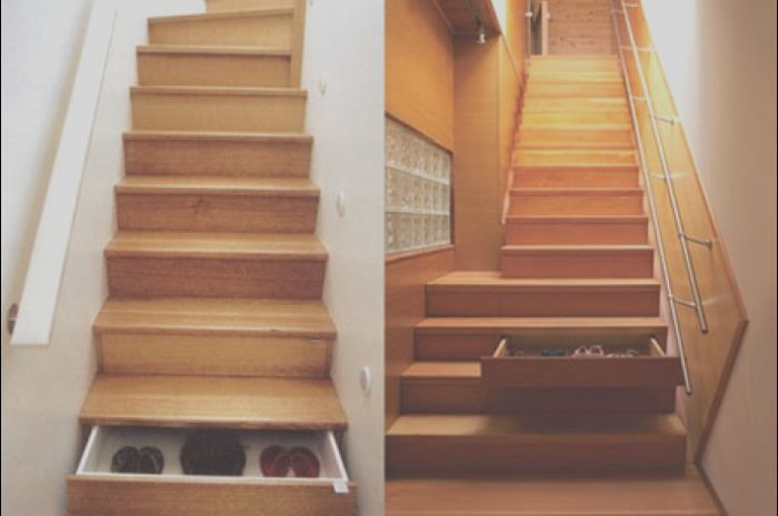 12 Ideal Stairs Design with Drawers Images