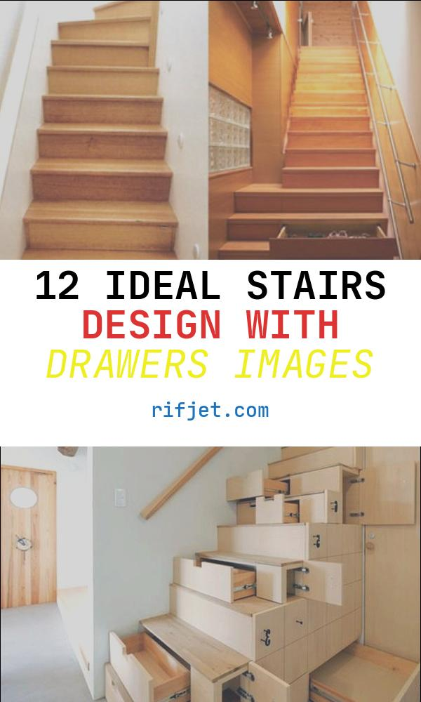 Stairs Design with Drawers New Under Stairs Shelving Design Ideas