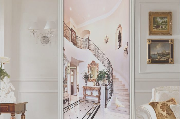 15 Fantastic Stairs Door Decoration Photos
