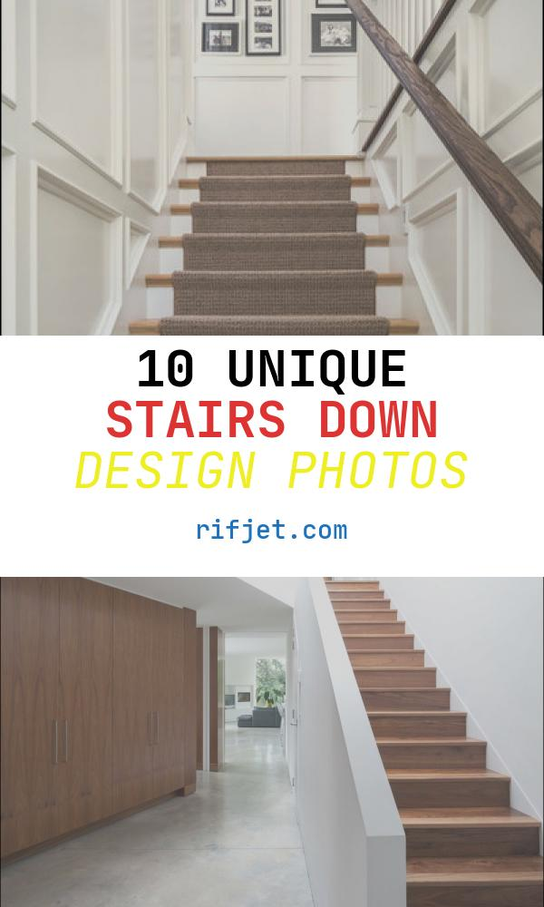 Stairs Down Design Luxury Unify Your Upstairs and Downstairs with the Perfect