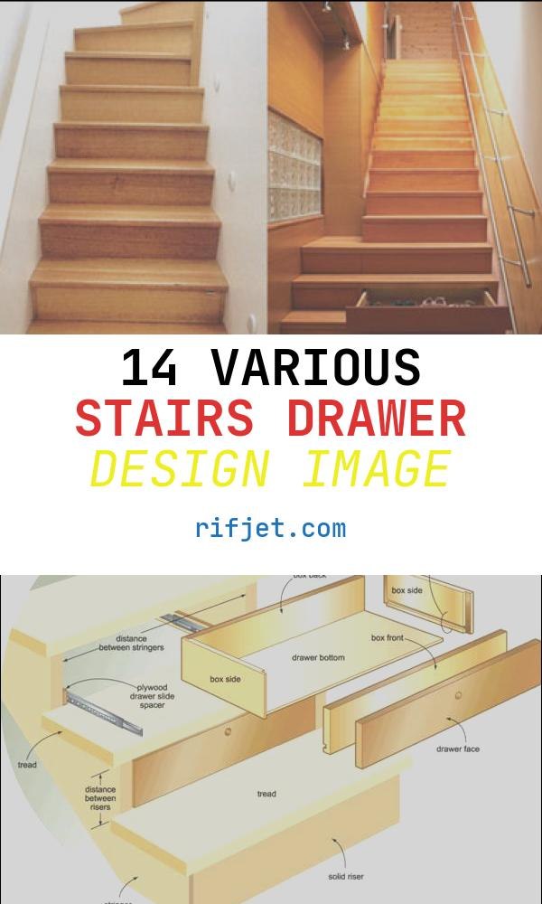 14 Various Stairs Drawer Design Image