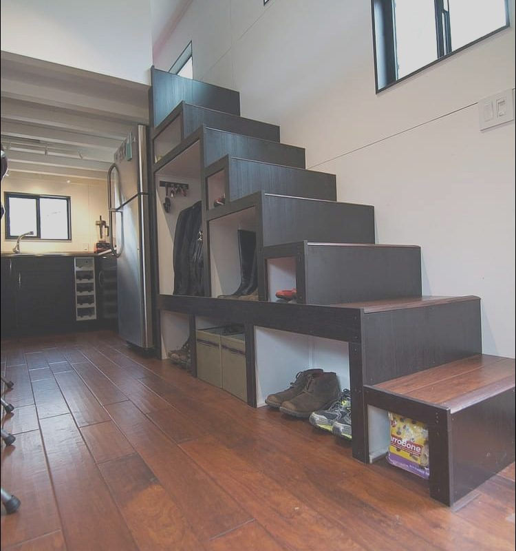 Stairs for Small House Design Elegant Tiny House On Wheels by andrew & Gabriella Morrison
