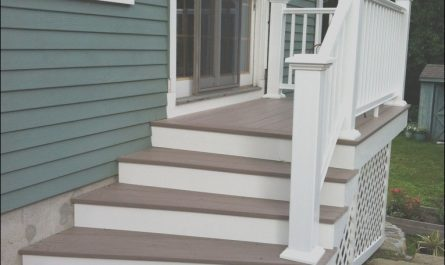 "Stairs From House to Patio Luxury Replace ""deck"" with Stairs Leading to Patio"