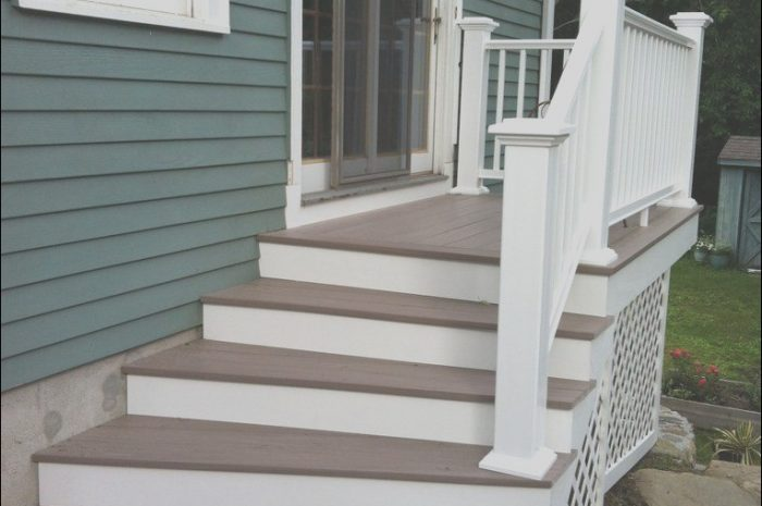 9 Likeable Stairs From House to Patio Photography