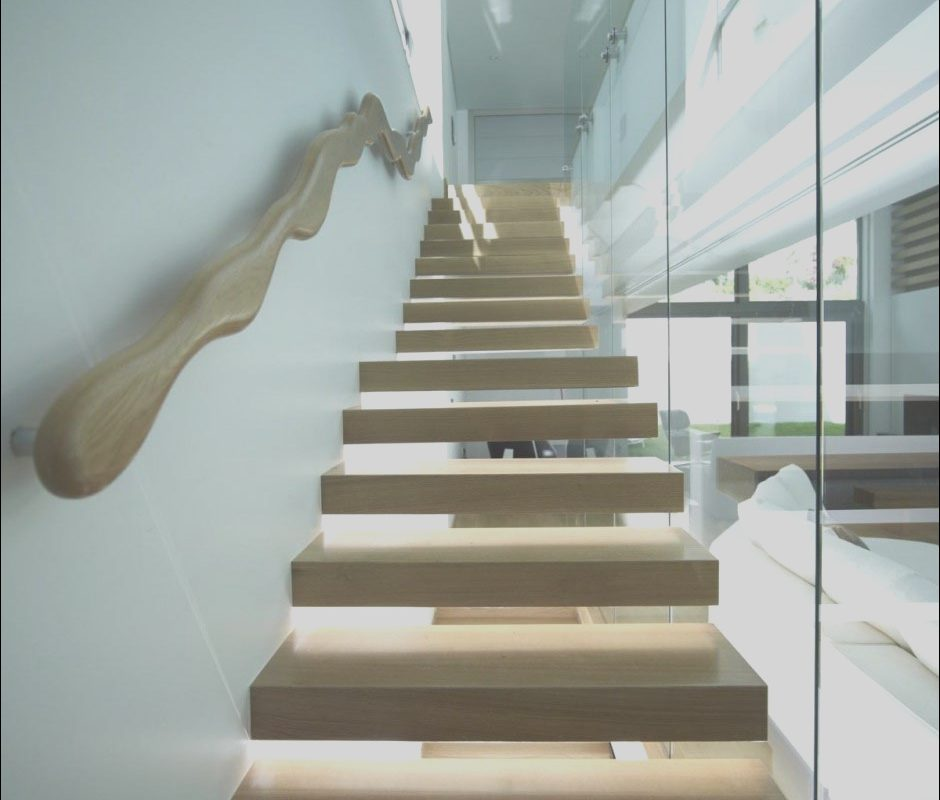 Stairs In A Modern Home Luxury Stairs