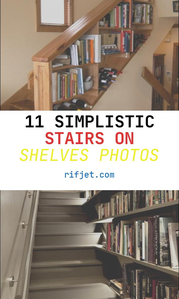 Stairs On Shelves New 10 Clever Stairs Storage Ideas