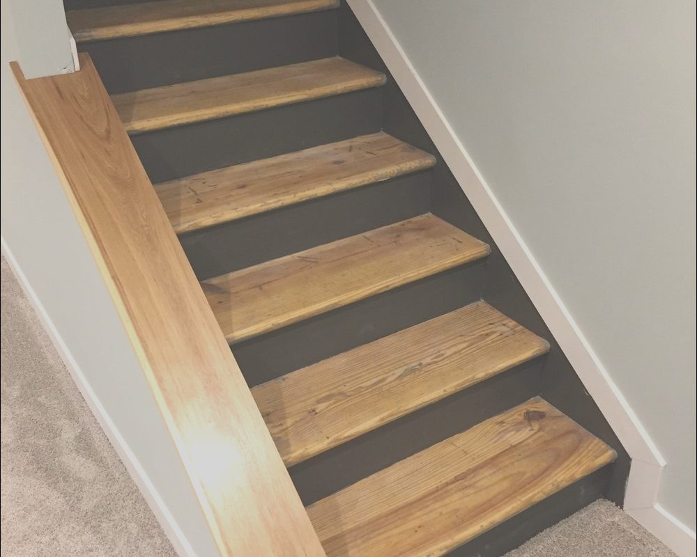 Stairs Step Ideas Lovely Staircase Remodel Diy Basement Stair Transformation