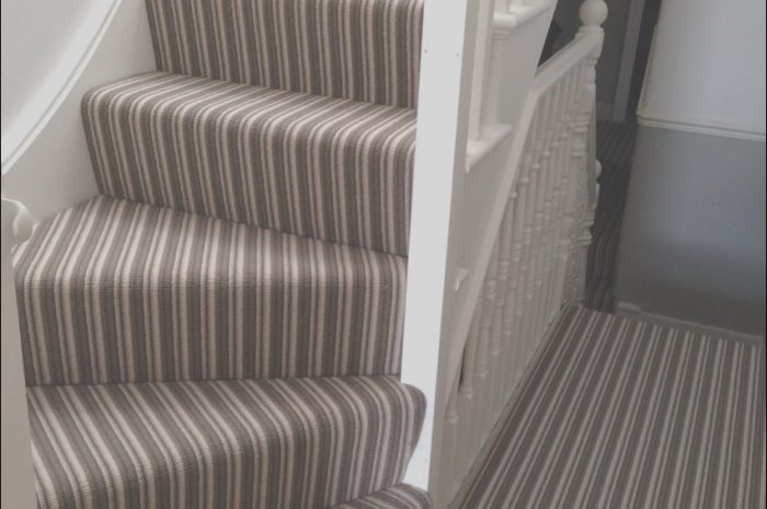 10 Clever Stairs Striped Carpet Ideas Gallery