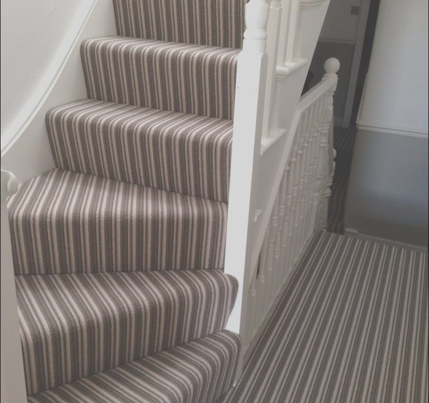 Stairs Striped Carpet Ideas Unique Stripey Striped Stair Carpet From