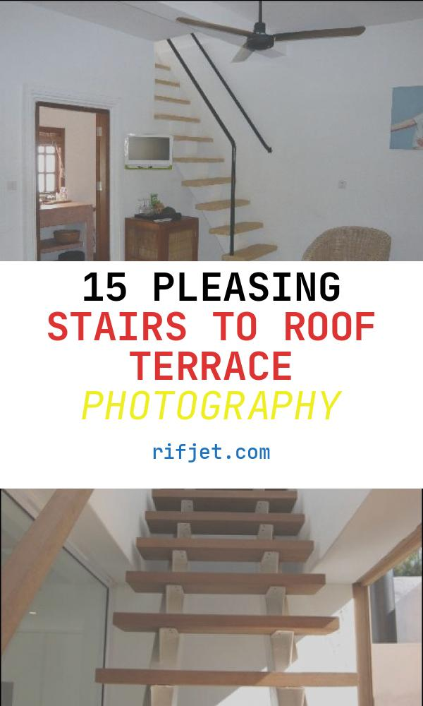 15 Pleasing Stairs to Roof Terrace Photography