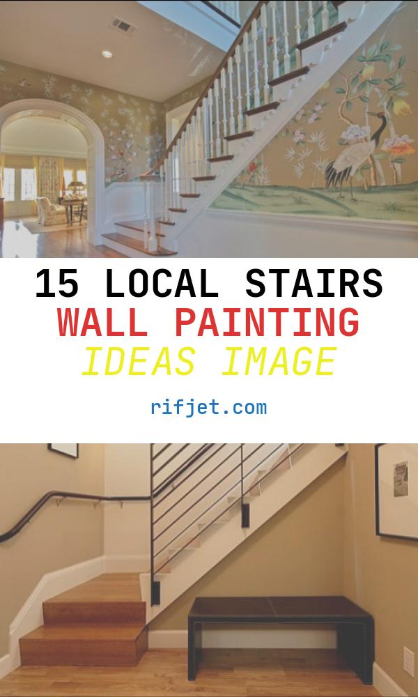 15 Local Stairs Wall Painting Ideas Image