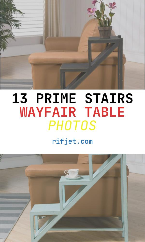 Stairs Wayfair Table Elegant Coast to Coast Imports Stair Step End Table & Reviews