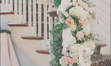 Stairs Wedding Decor Lovely 40 Elegant Ways to Decorate Your Wedding with Floral