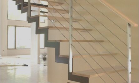 Stairs with Modern Railing Beautiful Modern Stair Case Home Decor