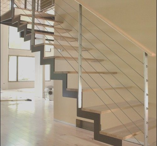 10 Clean Stairs with Modern Railing Gallery