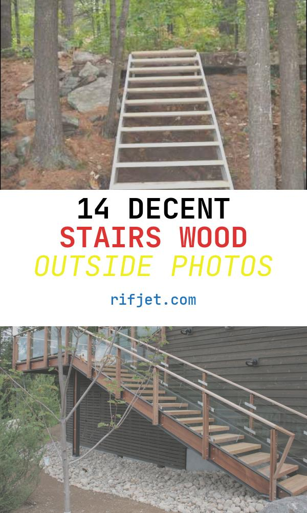 Stairs Wood Outside New Outdoor Stairs – Stair Kits for Basement attic Deck