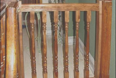 Stairs Wooden Gate Elegant Wooden Stair Gates Safety First