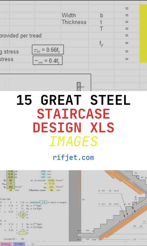 15 Great Steel Staircase Design Xls Images