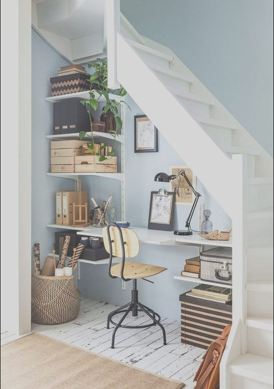 Study Table Under the Stairs Awesome Exquisite and Brilliant Ideas On What to Do with Your