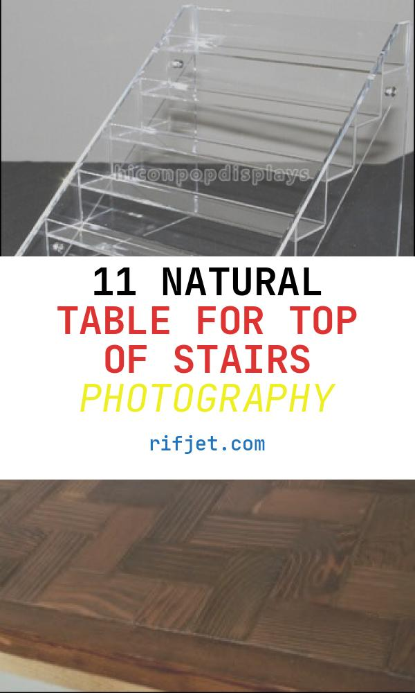 Table for top Of Stairs Lovely Retail Store New Product Advertising Table top 6 Layer
