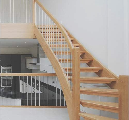 14 Petite Timber Stairs Modern Photography