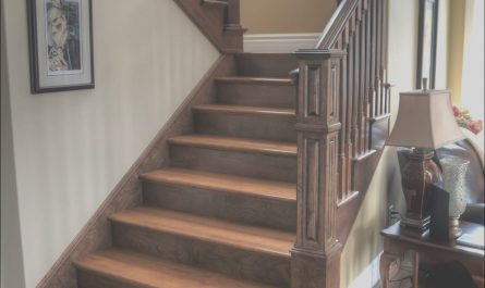 Two tone Stairs Design Awesome Two tone Staircase with Custom Posts Railing Stairs